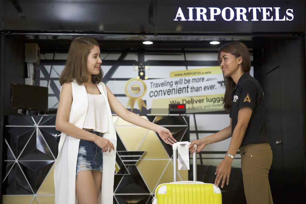 AIRPORTELs Luggage Delivery Service at Suvarnabhumi
