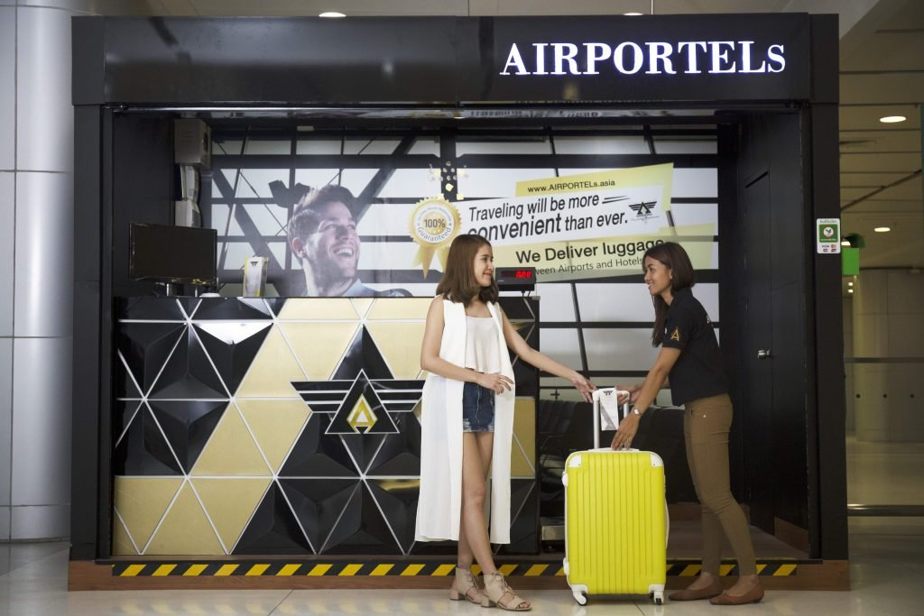 airportels,luggage delivery,luggage storage bangkok,luggage storage