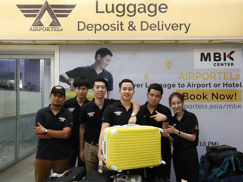 <span class='p-name'>Luggage Storage at Suvarnabhumi Airport Bangkok by AIRPORTELs</span>